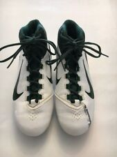Size US 10 , Mens, Nike Alpha Speed, Cleats Green And White 442245-131