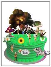 TINKERBELL WAFER CARD CAKE SCENE WITH PERSONALISED PLAQUE (uncut) 23 pieces