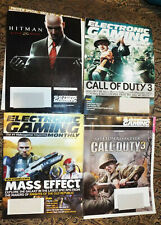 Electronic Gaming Monthly Magazine Back Issues Call of Duty Zelda Hitman PS3 Wii