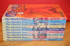 THE CELESTIAL ZONE Lot of 9 New Books An Asiapac Pulblication Beng Manga comic