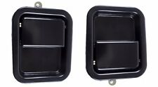 Jeep Wrangler TJ Paddle Door Handle Black Pair 1997-2006 55076223 / 55076222