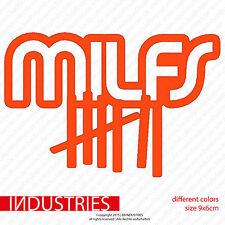 Milfs Milfhunter Sticker 9x6 Auto Car Aufkleber Fun