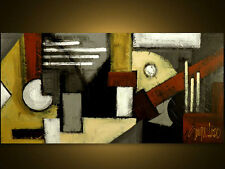 """MODERN ART - Original Modern Painting by S.Lazo – MADE TO ORDER - 24"""" x 48"""""""