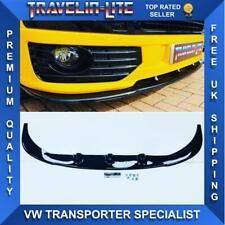 T5.1 Sportline Splitter Gloss Black ABS Plastic 10-15 Transporter Fitting Kit