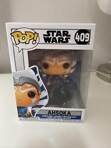 "STAR WARS CLONE WARS Figurine AHSOKA TANO N° 409 FUNKO ""POP"""
