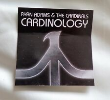 Ryan Adams and the Cardinals 'Cardinology' Promotional Promo Sticker
