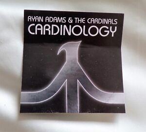 Ryan Adams and the Cardinals 'Cardinology' Promotional Promo Sticker