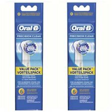 Braun Oral-B Precision Clean Aufsteckbürsten 2 X 6er pack 12-Stück- 100%25Original