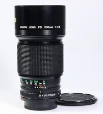 CANON FD 200mm / 1:2.8 - 2.8/200mm newFD, mit 1 Jahr Gewährleistung