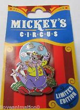 Disney Wdw Mickey's Circus Big Top Dessert Gift Figment Pin