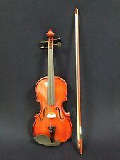 Caraya 1/2 Size Acoustic Violin w/Bow,Chin Rest,Rosin,Bridge,Foam Case-Full Set