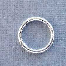 10 pcs Silver plated Closed Jump Ring Connector 14x2mm jewelry findings DIY k1