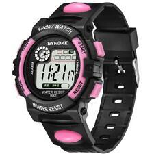 Fashion Students Sports Date Digital Watch Kids Girls Boys Waterproof Wristwatch