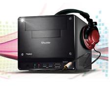 SHUTTLE XPC MINI BAREBONE PC INTEL QUAD CORE I5 8GB SSD 240 GB WINDOWS 10 HDMI