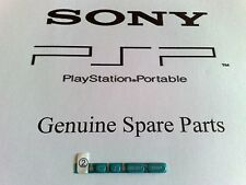Genuine+Original Part SONY PSP-3004:Right buttons/keys-start/sel(Turquoise Green