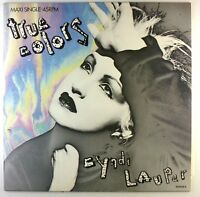 "12"" Maxi - Cyndi Lauper - True Colors - E416 - cleaned"