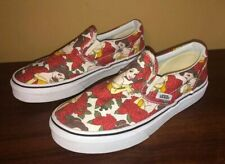 Disney VANS Beauty And The Beast - Belle - Rare Slip-On Youth Size 2.5 New Other