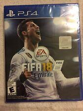 FIFA 18 (Sony PlayStation 4, 2017) - BRAND NEW, FACTORY SEALED, PS4