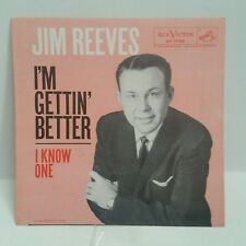Jim Reeves    RCA 47-7756    I KNOW ONE    (PICTURE SLEEVE ONLY)    SHIPS FREE