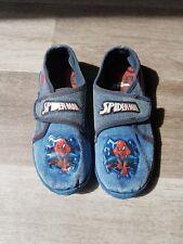 Jungen Hausschuhe Gr. 30 (Spider-Man) Blau
