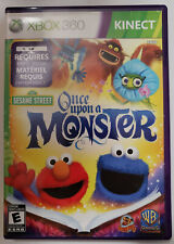 Sesame Street: Once Upon a Monster - Xbox 360 - Complete CIB