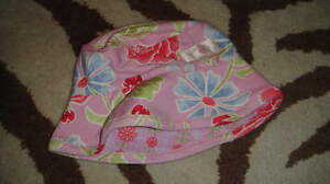 BOUTIQUE BABY LULU 18-24 SAMPSON FLORAL REVERSIBLE HAT