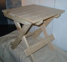 Handcrafted Fisherman's Folding Table or Seat