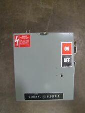 GENERAL ELECTRIC GE DE422R 60 AMP FUSIBLE BUSWAY DISCONNECT SWITCH 240V 4W 3PH