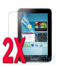 "2X Clear Screen Protector Samsung Galaxy 7"" Tab 2 P3100 P3110"