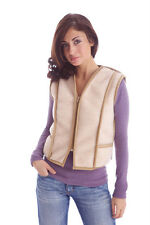 Waistcoat From Alpaca-wool 20 and 8025 Wool Light Brown Made in Germany