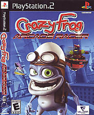 Crazy Frog Arcade Racer (Sony PlayStation 2, 2007) Complete with manual