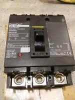 UC-54 Square D PowerPact Breaker 100A Cat# HDA36100 Type  HD 150 ..