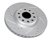 FOR SEAT LEON  FRONT DRILLED & GROOVED 2x BRAKE DISCS 312MM PROFESSIONAL