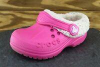 Crocs Toddler Girls 6-7 Medium Pink Clog Synthetic