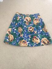 Cath Kidston Oxford Rose Skirt Size 8
