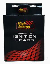 HIGH ENERGY IGNITION / PLUG LEADS: S/B CHEV, HEI, UNDER MANIFOLD - 9mm, 90 deg.