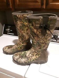 Irish Setter Rutmaster sz 14 Hunting Boots Rubber Clad Neoprene Men's
