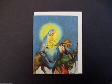 # I 860- Unused Erica Von Kager Brownie Xmas Greeting Card Madonna & Child