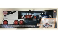 Little Tikes - Car Transporter Truck with Magnetic Car Loader & 2 Sport Cars