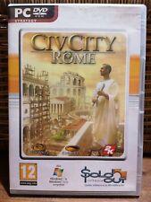 Civ City Rome PC CD-ROM
