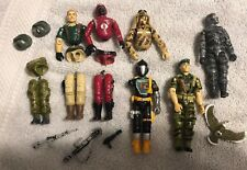 Lot of Vintage Hasbro G.I Joe Action Figures!! And Parts