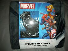 "Marvel Black Panther 60"" X 90"" Plush Blanket"