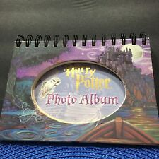 Harry Potter Photo Album Hardcover Spiral Bound Stand Up Frame Multiple Poses