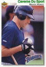 437 BRUCE HURST SAN DIEGO PADRES BASEBALL CARD UPPER DECK 1992