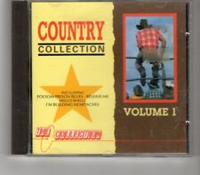(HP634) The Country Collection, Vol 1, 20 tracks various artists - 1986 CD