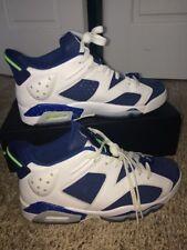 Air Jordan 6 Retro Low Size 9 Ghost Green White