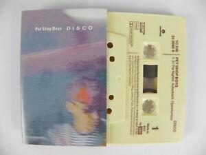 PET SHOP BOYS Disco remix album Suburbia Paninaro cassetta MC Musicassetta Tape