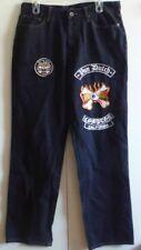 Men's Von Dutch Jeans has Extra Patch Dark Blue 34 x 33