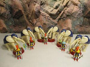 (RL6) 3809 Weisser Elefant mit Dompteur Zirkus Cirkus auswahl