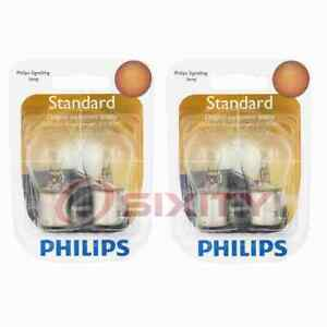 2 pc Philips Back Up Light Bulbs for Porsche 911 924 928 944 968 Boxster cg